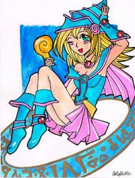 Dark Magician Girl by Artoflette