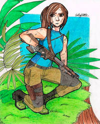 Lara Croft by Artoflette