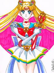 Sailor Moon by Artoflette