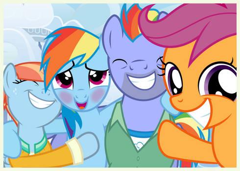 Family Snapshots IV - Rainbow Dash