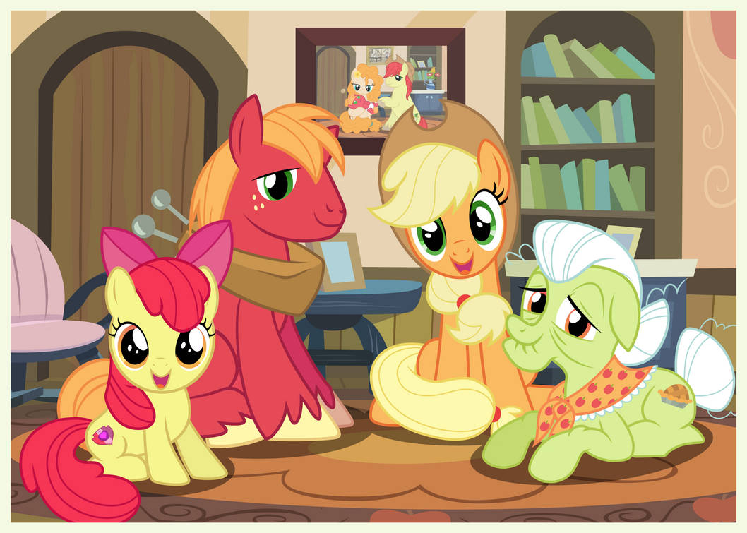 Family Snapshots V - Applejack by Mundschenk85