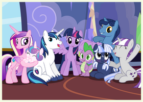 Family Snapshots VI - Twilight Sparkle