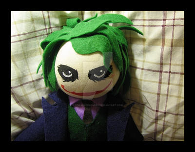 Joker Plushie by Tsurumaru by TDKJokerLovers