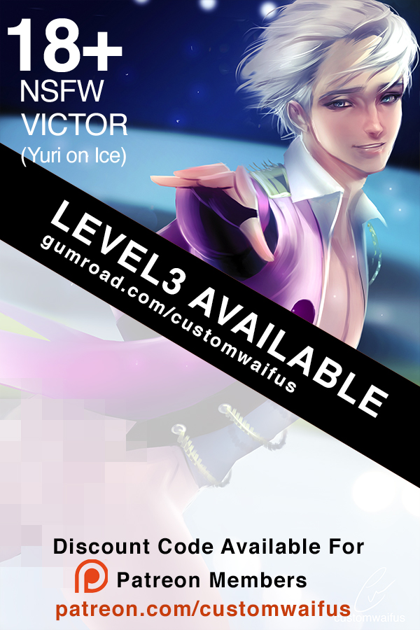 .NSFW Level 3 Victor Now Available by customhusbandos