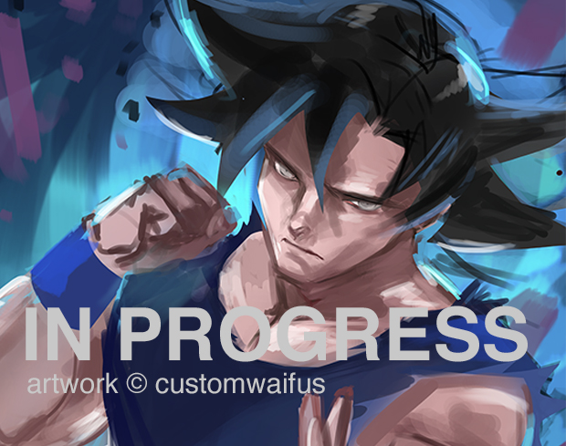 Goku Wip2 by customhusbandos
