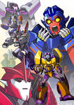 Stunticons and Knockout!