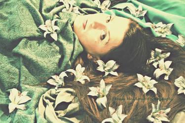 Wonderful world of lilies by retrohippiesummer