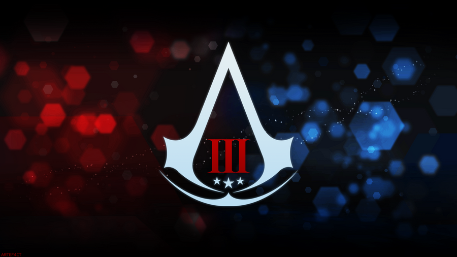 Assassins Creed III Assassin Logo Animus Style By ArteF4ct