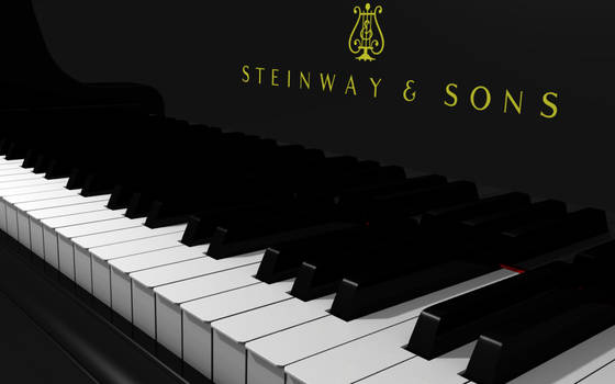 The Piano - Blender 3D