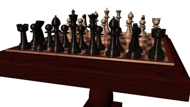 Wooden Chess - Maya
