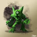 -Pokemon fusion Metakazam-