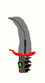 Mai knif :33 by Doreikuthememer