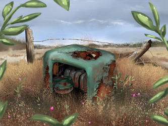 Rusty, Discarded, Old by MikeK4ICY