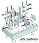 Depot Cootie Key - Explosion Diagram 01a by MikeK4ICY