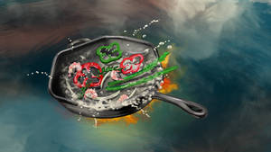 Cast Iron Skillet (Concept Comp) by MikeK4ICY