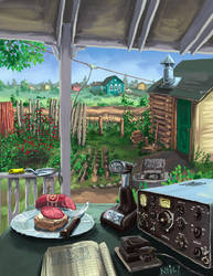 Radio Garden (The Ham's Dacha)