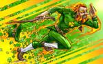 Laser Leprechaun by MikeK4ICY