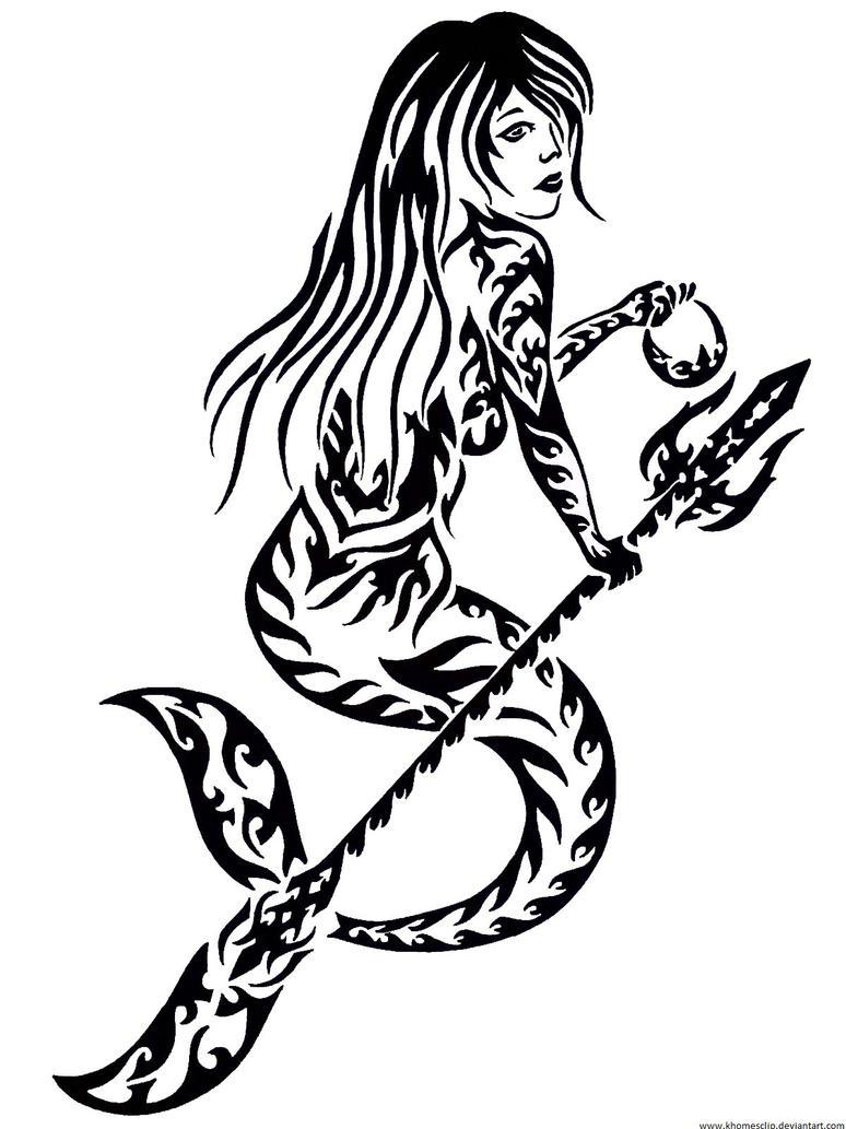 mermaid by khomesclip on DeviantArt