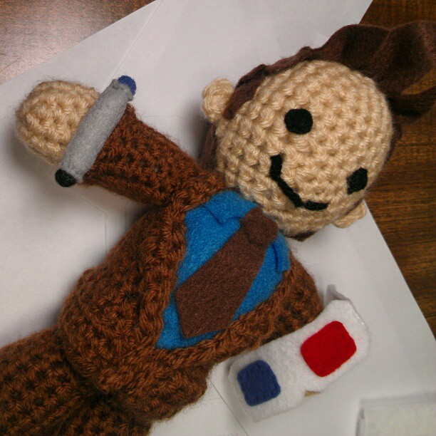 Doctor Who Doll by beckadoodles