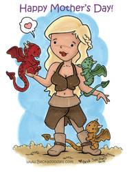 Khaleesi by beckadoodles