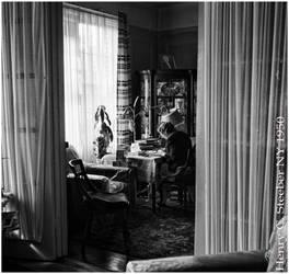Lady at a Desk 1950