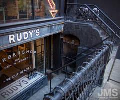 Rudy's We Cut Heads by steeber