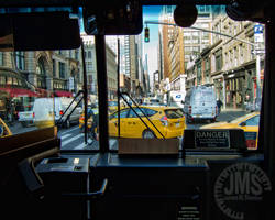 Bus Ride Passing 22nd Street by steeber