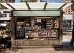 A Newsstand on Sixth Avenue