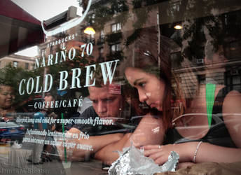Starbucks Window by steeber