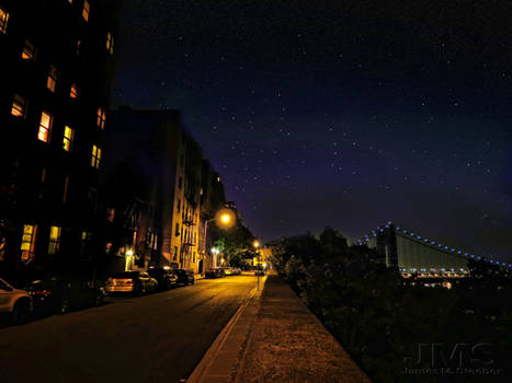 Starry Night in the Heights