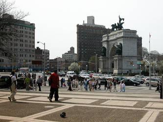 Grand Army Plaza Brooklyn by steeber