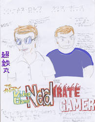 AVGN and the Irate Gamer by Chotetsumaru