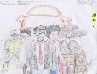 Most Bad-Ass Clique Ever 2 by Chotetsumaru