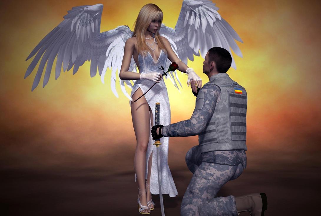 My angel by galm11