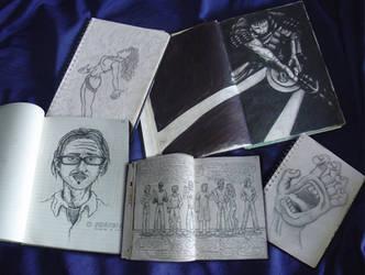 Meus Sketchbooks