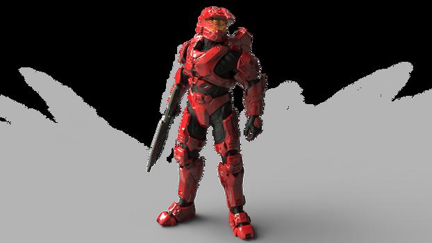 MJOLNIR Powered Assault Armor/Mark VI (Scarred)