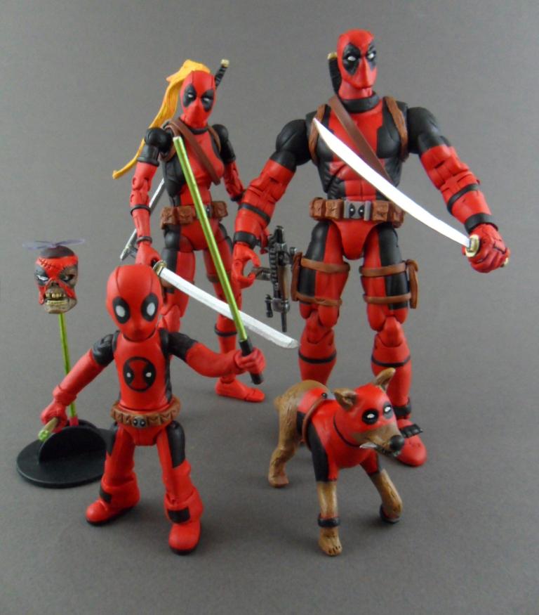 Deadpool Family-Corps by Central-Cali-Custom