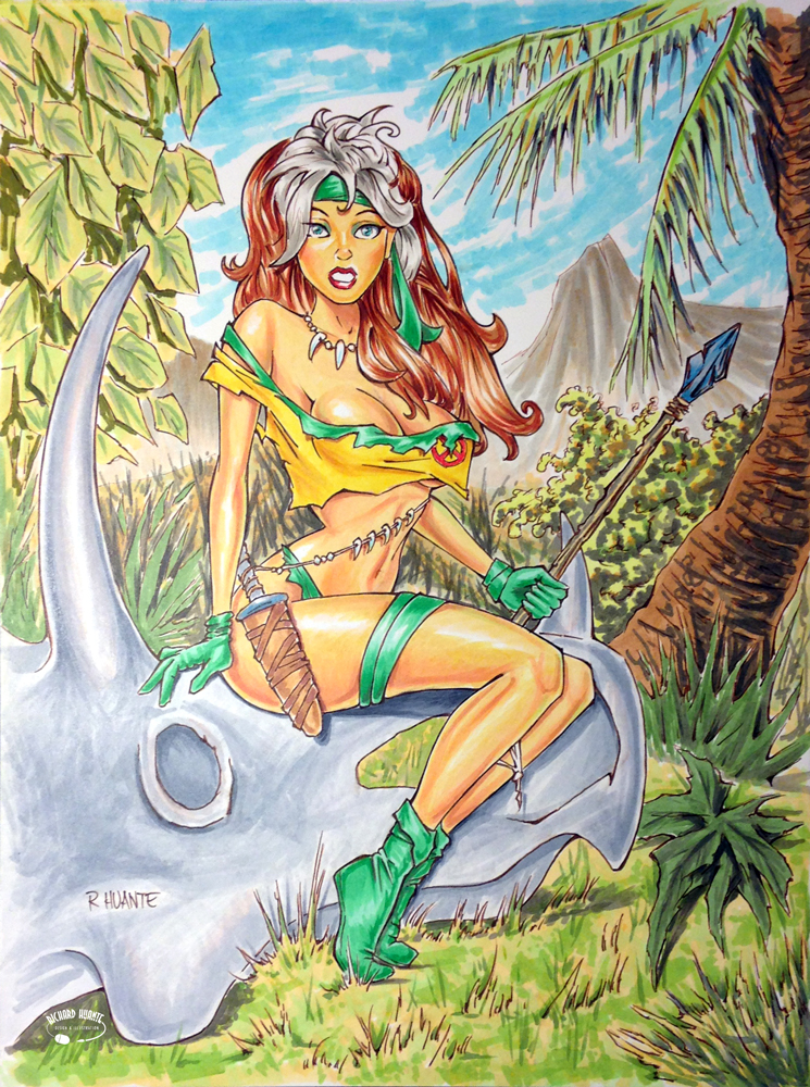 Rogue-Savage Land by RichardHuante