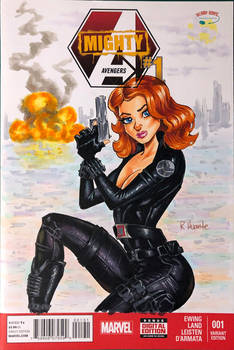 Black Widow Blank Cover