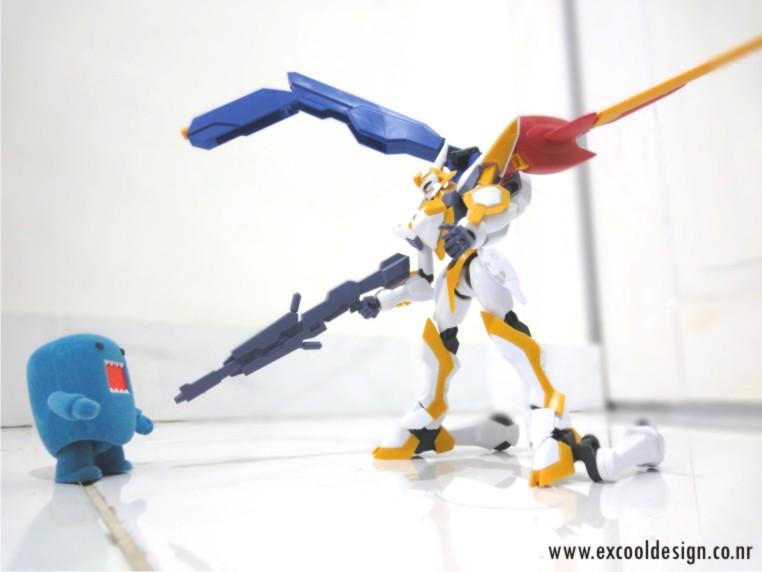 Lancelot vs Domo-kun by dualiman