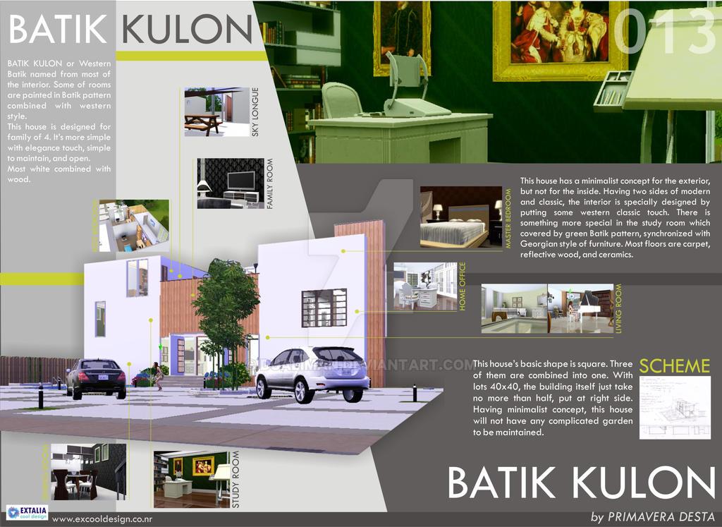 House #13: Batik Kulon House by dualiman on DeviantArt