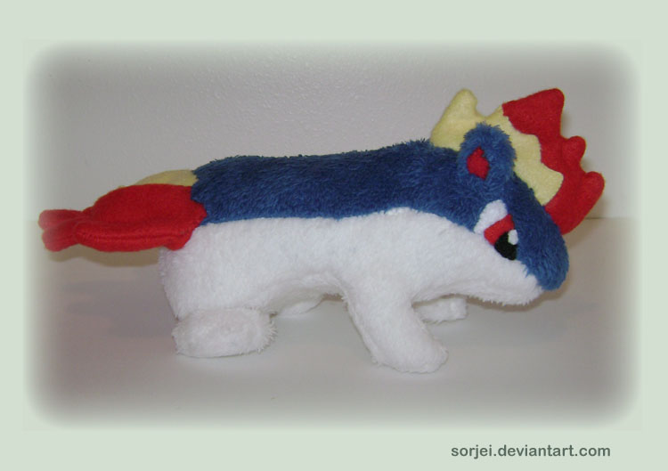 Quilava Plush by sorjei