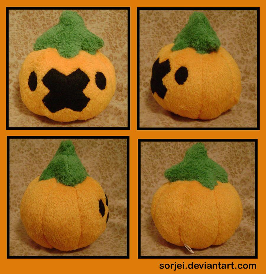 Drifloon Pumpkin by sorjei