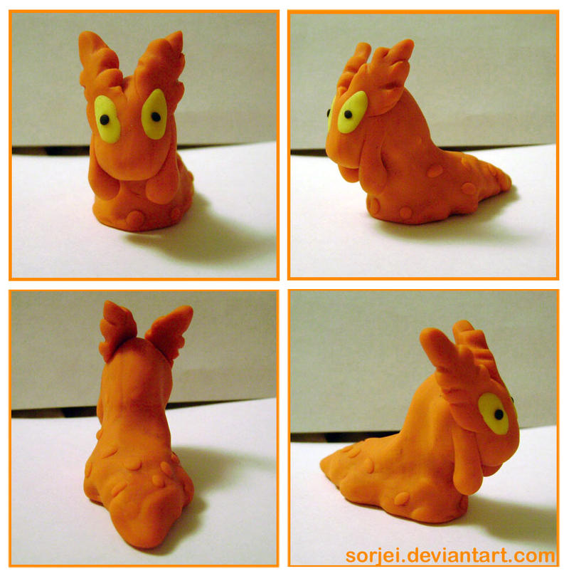 Slugma Sculpt by sorjei