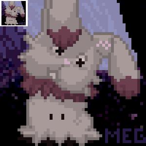 Mimikyu Icon Example by sorjei