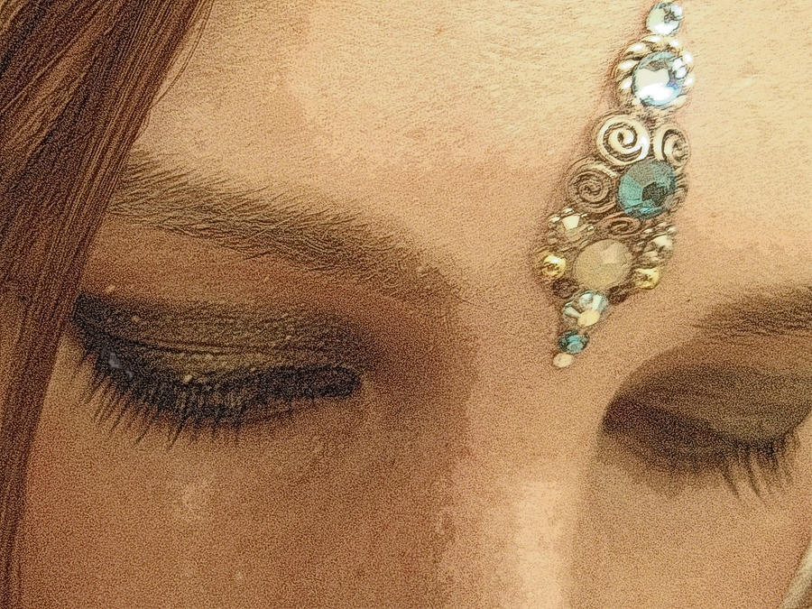 Beauty with a Bindi by DoveSong