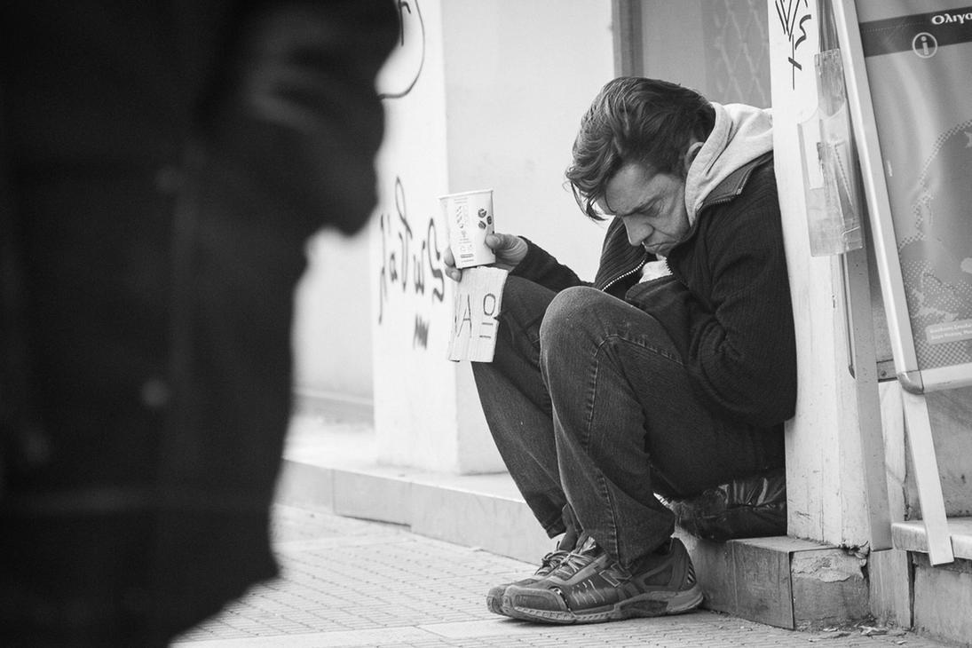 Poverty - Greece 2013 by martinxxfire