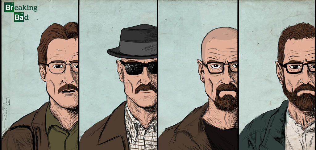 Walter White by ArtOfTej
