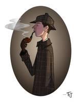 Sherlock by ArtOfTej