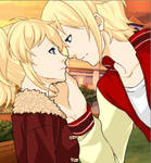 Me and Monica in Mega Anime Couples Form